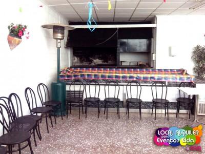 Barbacoa Local Alquiler Para Eventos Elda La Terraza